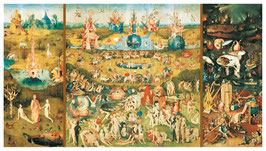 Le jardin des délices (puzzle 9000 pièces)