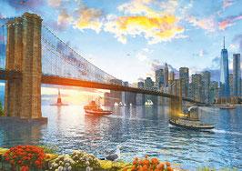 Pont de Brooklyn 2016  (puzzle 4000 pièces)