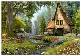 Cottage dans le bois (6000 pièces)