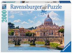 Le pont Saint-Ange  Rome  (puzzle 2000 pièces)