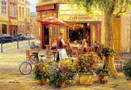 Corner Cafe, Haixia Liu