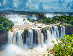 Les chutes d'Iguazu Brésil 2016 (puzzle 2000 pièces)