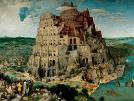 Tour de Babel- Bruegel l'ancien (5000 pièces)