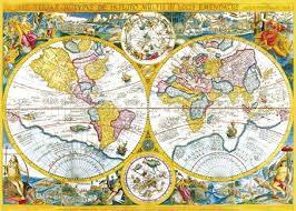 Ancienne mappemonde par Felix Rosenstiel (puzzle 4000 pièces)