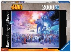 Star wars  affiche   (puzzle 2000 pièces)
