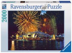 Feu d'artifice sur Sidney (puzzle 2000 pièces)
