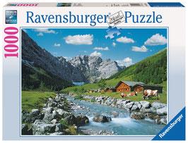 La montagne des Karwendel, Autriche