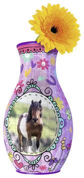 Vase à fleurs Chevaux Girly