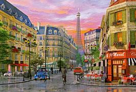 Paris romantique (puzzle 5000 pièces)