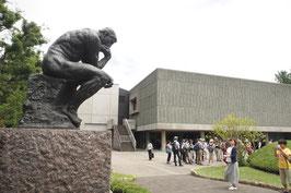 上野公園の研修会
