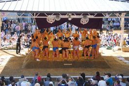 大相撲講義と奉納大相撲見学会