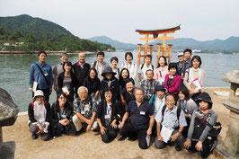 世界遺産・宮島を巡るツアー研修