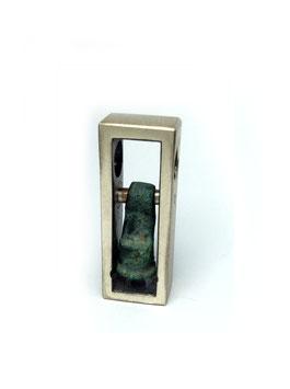Antike Zeugnisse Anhänger DOGON GIMBALA 02 Silber