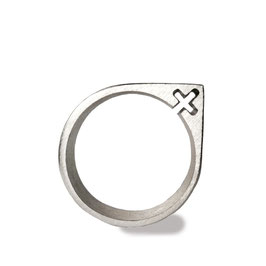 121 Symbolring FRAU Silber