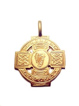 164 Anhänger Irisches Keltenkreuz Bronze