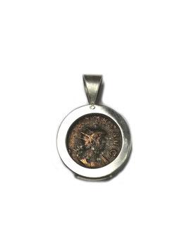 Antike Zeugnisse Anhänger TETRICUS Silber