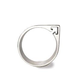 121 Symbolring MANN Silber