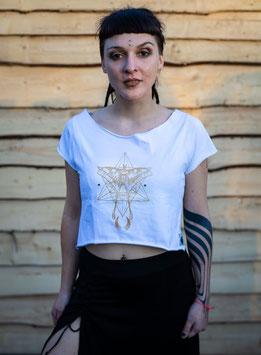 Golden Moth Shirt Wite