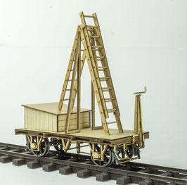 Bahndienstwagen 0m, Bausatz 1:45