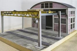 Industriehalle mit Kranbahn