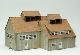 Waschkaue + Umkleidehaus