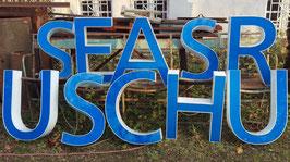 alte Buchstaben blau-weiß 60 cm 0612rest