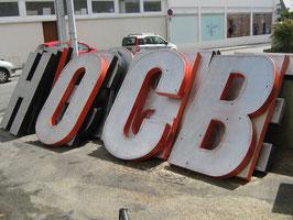 alte Buchstaben Metall ca 1,60 cm hoch (rest)
