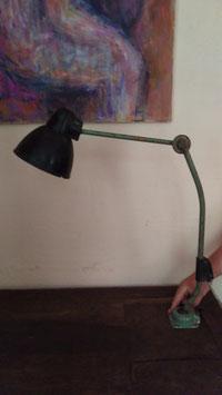 alte Arbeitsleuchte Bakelit für Tisch- oder Wandbefestigung Nr 0509-04