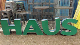 alte Werbebuchstaben Leuchtreklame Buchstaben kuha 2007rest