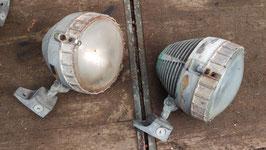 1 Paar Wandlampen Spots Aluguss Nr 2104-05