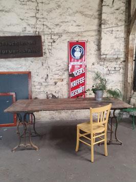 alter Esstisch Tisch 2 m Eiche Nr 0203