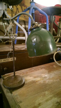 alte Jugendstil Art Deco Schreibtischlampe