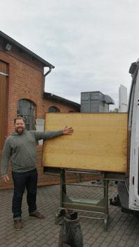 sehr großer, alter Zeichentisch von Heliolithe Nr 1106