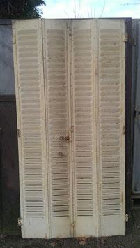 alte Metall Fensterläden Klappläden 0104