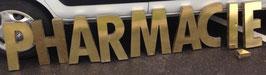 alte Messing Buchstaben Vintagebuchstaben 1509rest