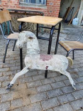 Altes Pferd Holzpferd Karussellpferd Nr 1404