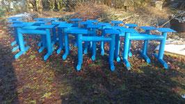 alte Industrie Tischgestelle 95 cm Nr. 2302-02sim