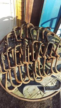 alte sehr große Fleischerhaken 33 cm lang