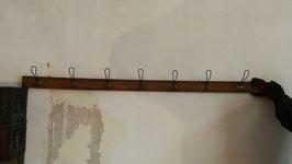 alte antike Garderobenleisten Hakenleisten Garderobe 180 cm Nr 1410