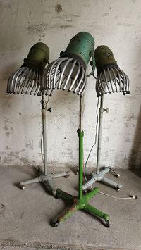 alte Friseurhauben für Stehlampen Vintage Nr 1709