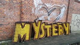 Viele bunte Buchstaben vom Jahrmarkt Kirmesbuchstaben Nr 0601