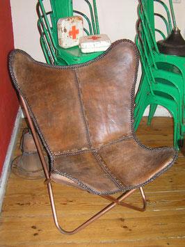 Ledersessel zerlegbar Vintage Nr 0603