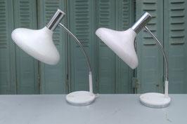 alte 80er Jahre Schreibtischlampen 1403