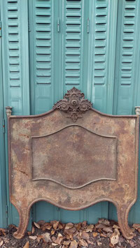 antikes Bett Teil für Tafel oder Garderobe aus Frankreich