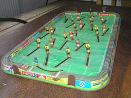 alte Blech Tischfußball Spiel