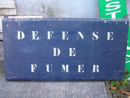 altes Schild aus Frankreich
