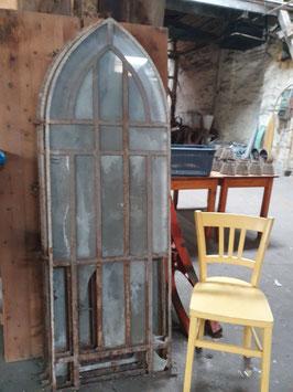 sehr altes antikes Kirchenfenster gusseisern Nr 203