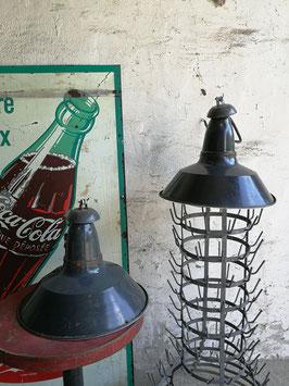 2er Set alte Fabriklampen Nr 0607