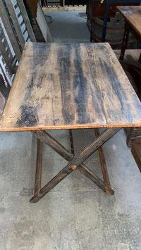alter Klapptisch Holz Nr 2812 Art Déco