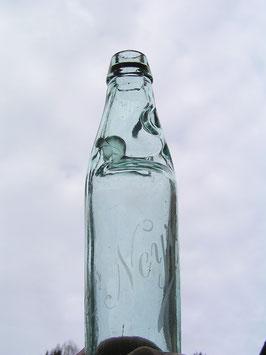 6er Set alte Limonadenflaschen mit Kugel